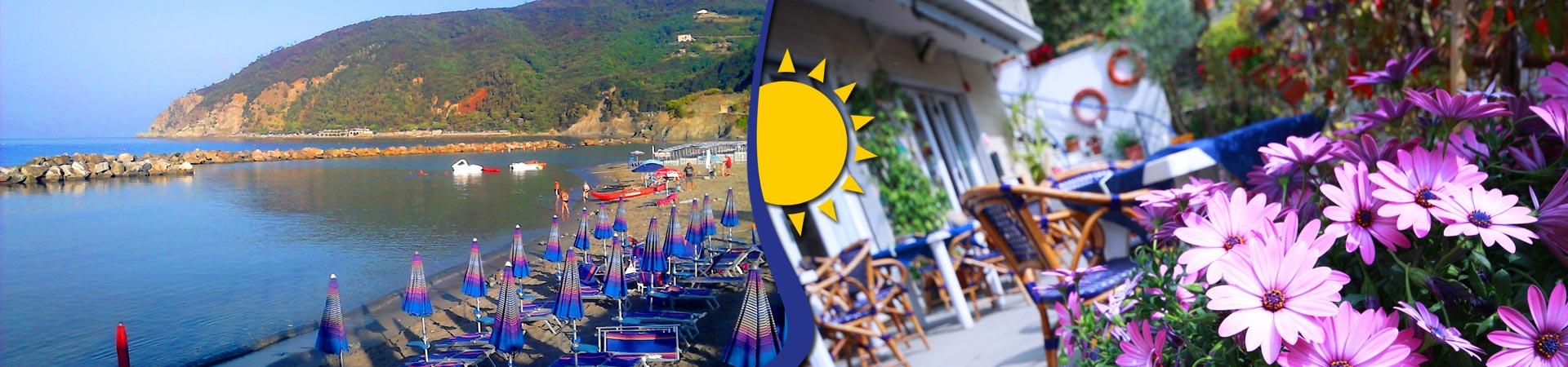 Hotel ristorante Eva la Romantica Cinque Terre Moneglia