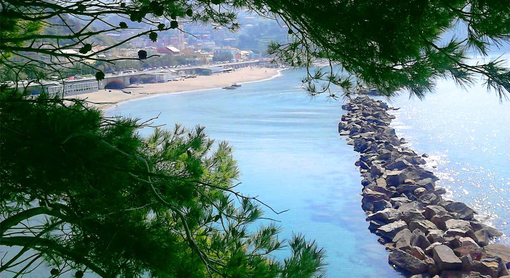 come arrivare all'Hotel Ristorante Eva la Romantica a Moneglia