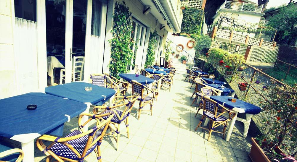 Hotel Ristorante con terrazza sul mare Eva la Romantica a Moneglia