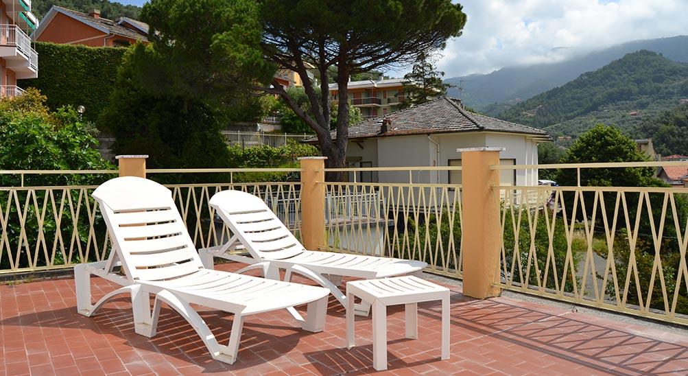 camere b&b bad & breakfast Albergo Hotel Ristorante Eva la Romantica a Moneglia